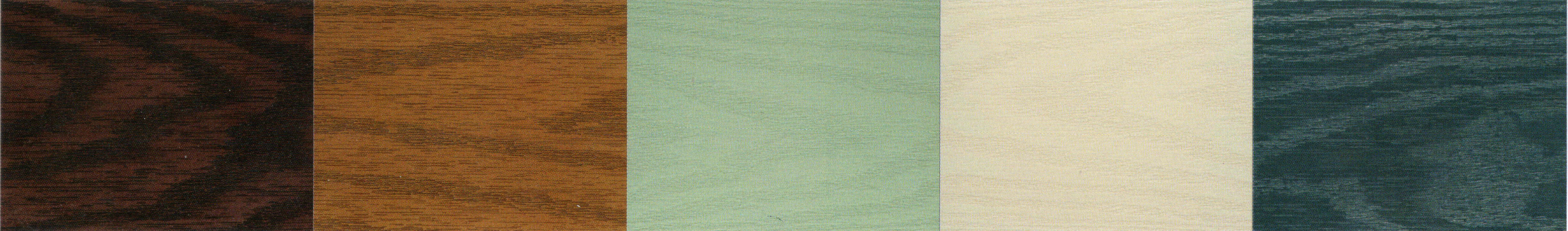 composite door colours chestnut, oak, green, cream and blue