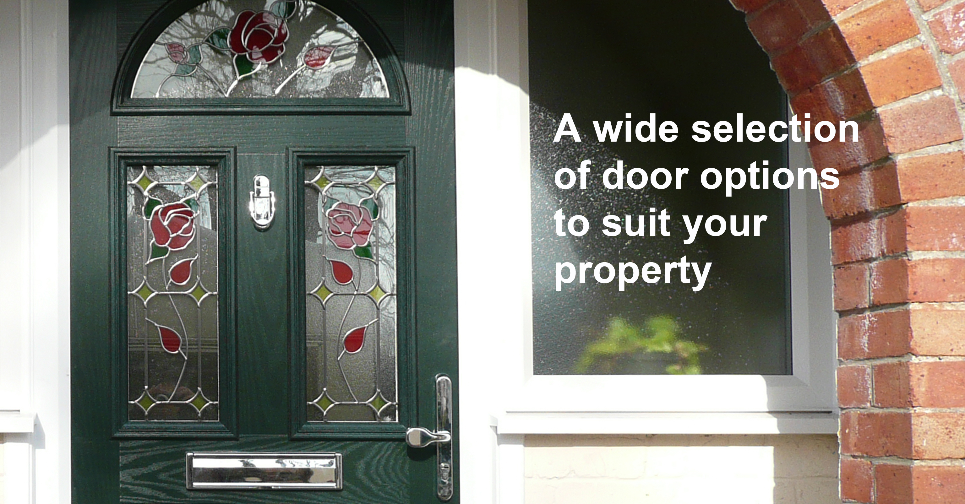 replacement doors, UPVc doors, composite doors, contemporary traditional