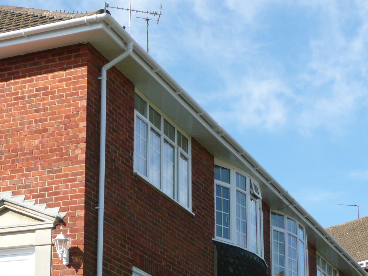 roofline replacement, fascias, soffits and guttering
