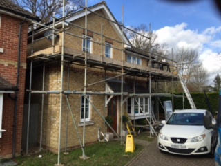 safety during fascia, soffit and guttering replacement