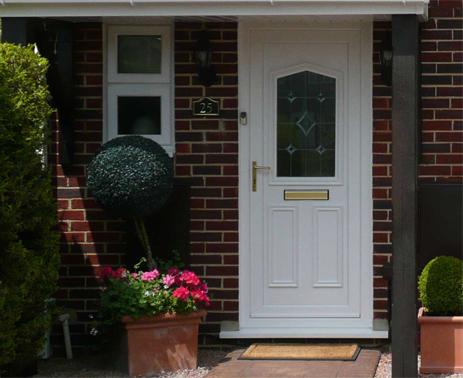 replacement white PVCU DOOR